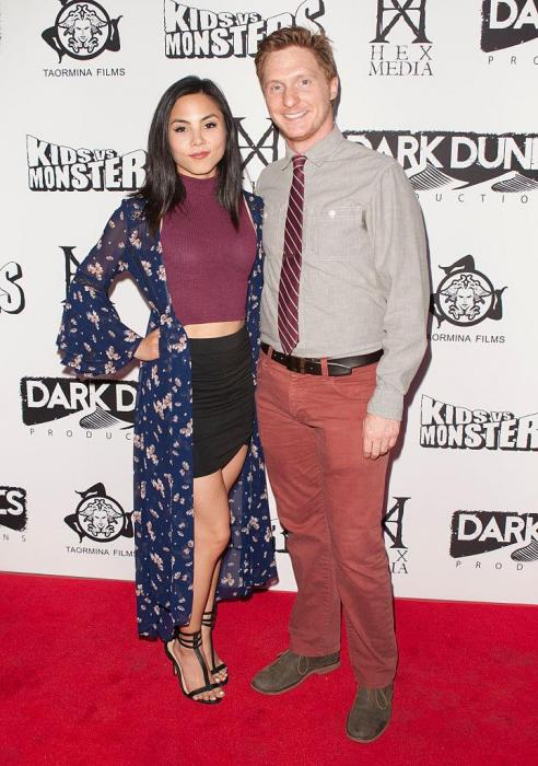 Anna Akana with friendly, Boyfriend George Watsky